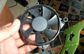 Antiguo ventilador de PC---> turbina de viento en 10 minutos