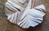 Copo de nieve de papel DIY