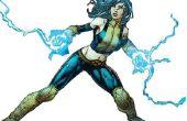 X-Men traje y guantes de energía