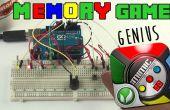 Juego de memoria - genio