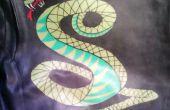Chaqueta de serpiente de túnel