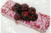 3 ingrediente BLACKBERRY barras