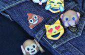 Camisa de Polo de Emoji y pernos DIY