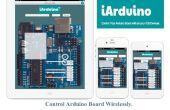 Control de Arduino Board inalámbricamente con iPhone, iPad o iPod iArduino de uso de la aplicación y Ethernet Shield