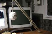 Auge de estudio profesional para micrófono