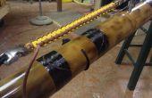 Plantilla de Paracord de bambú con almacenamiento y plantilla de puño de mono