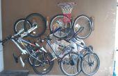 Bicicletas caseras montaje de pared