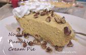 No Bake Pumpkin Cream Pie