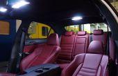 Lexus es 250 instalación de paquete de LED Interior