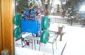 Robot de pintura de la ventana (arduino, procesamiento, acelerómetro)
