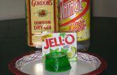 Ginebra y tónico Jello Shots