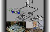 Máquina de combinación del CNC y la impresora 3D