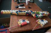 Rifle de francotirador L96A1 K'nex + nueva adición el juez