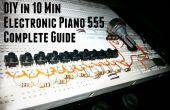 BRICOLAJE electrónico 555 de Piano