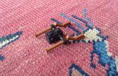 Cómo hacer un soporte de pistola de Lego doble