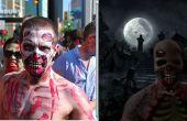 Crear un agradable aspecto zombie