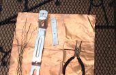 Supervivencia pick axe/hacha/arma