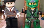 LEGO Harry Potter & la juventud de Ninjago verde trajes
