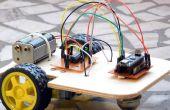 Base de prototipos de Robot multiusos madera contrachapada