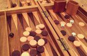 Cómo hacer un tablero de Backgammon de madera