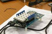 Intel Edison la estación de sol (UV y temperatura) con Python #IntelMakerMx
