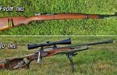 Sporterize un Rifle militar sobrante