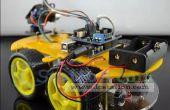 50% de descuento: coche de múltiples funciones de Bluetooth Kit de coche inteligente para Arduino