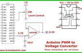 Arduino-ancho de pulso modulación Digital a la conversión analógico