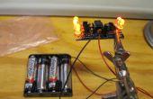 Cómo construir un canal 5 llama menos LED vela simulador