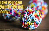 Hacer sus propias bombas de color caramelo Candy Crush