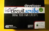 Crear puzzles electrónicos educativos con el kit de Circuitscribe y Circuitscribe Editor de 123D