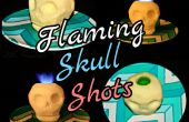 Flaming Skull tomas