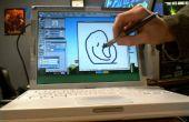 Hackear el ordenador portátil mac para ser una tablet de mac en 15 minutos o Cintiq DIY