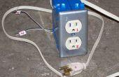 Barato y fácil opto-aislado TTL-a-110V luz módulo de control