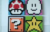 Mosaicos de Sprite de Mario LEGO