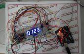 74HC595 digital LED pantalla basado en Arduino (código)