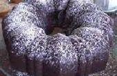 Poundcake de chispas de chocolate