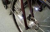 Luces de bicicleta complementarias tenedor ajustable montado $2