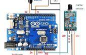 Detección mediante sensor Arduino y llama de fuego