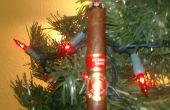 Adornos de Navidad cigarro
