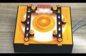 Generador electrostático - versión monodisco