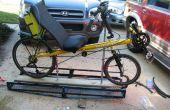 Un portador de bicicleta reclinada de $65