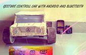 Gesture control car(robot) con Arduino y Android(bluetooth)