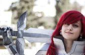 Corazón Kreuz armadura de erza Scarlet: espada