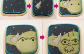 Yoda Star Wars Cookies