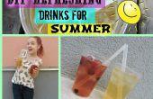 DIY bebidas refrescantes para el verano
