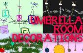 Decoraciones de habitaciones de paraguas
