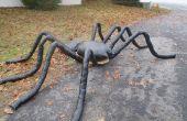 7' una araña para Halloween...