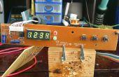 Reutilizar componentes electrónicos - Display de 7 segmentos basado en PT6964