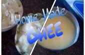 Consejos de madre-en-derecho-hacer mantequilla clarificada (Ghee puro) la manera fácil
